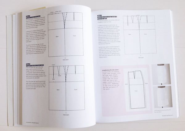 Beginner skirt block making book, pattern making