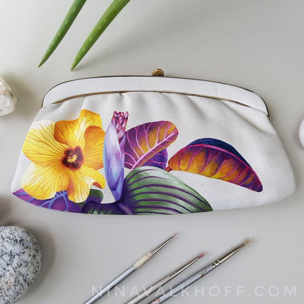 Nina Valkhoff Handpainted Vintage Bags and Purses