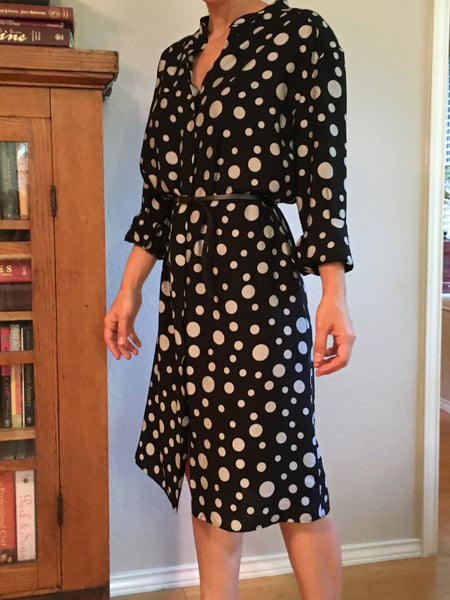 PDF sewing pattern for women shirt dress