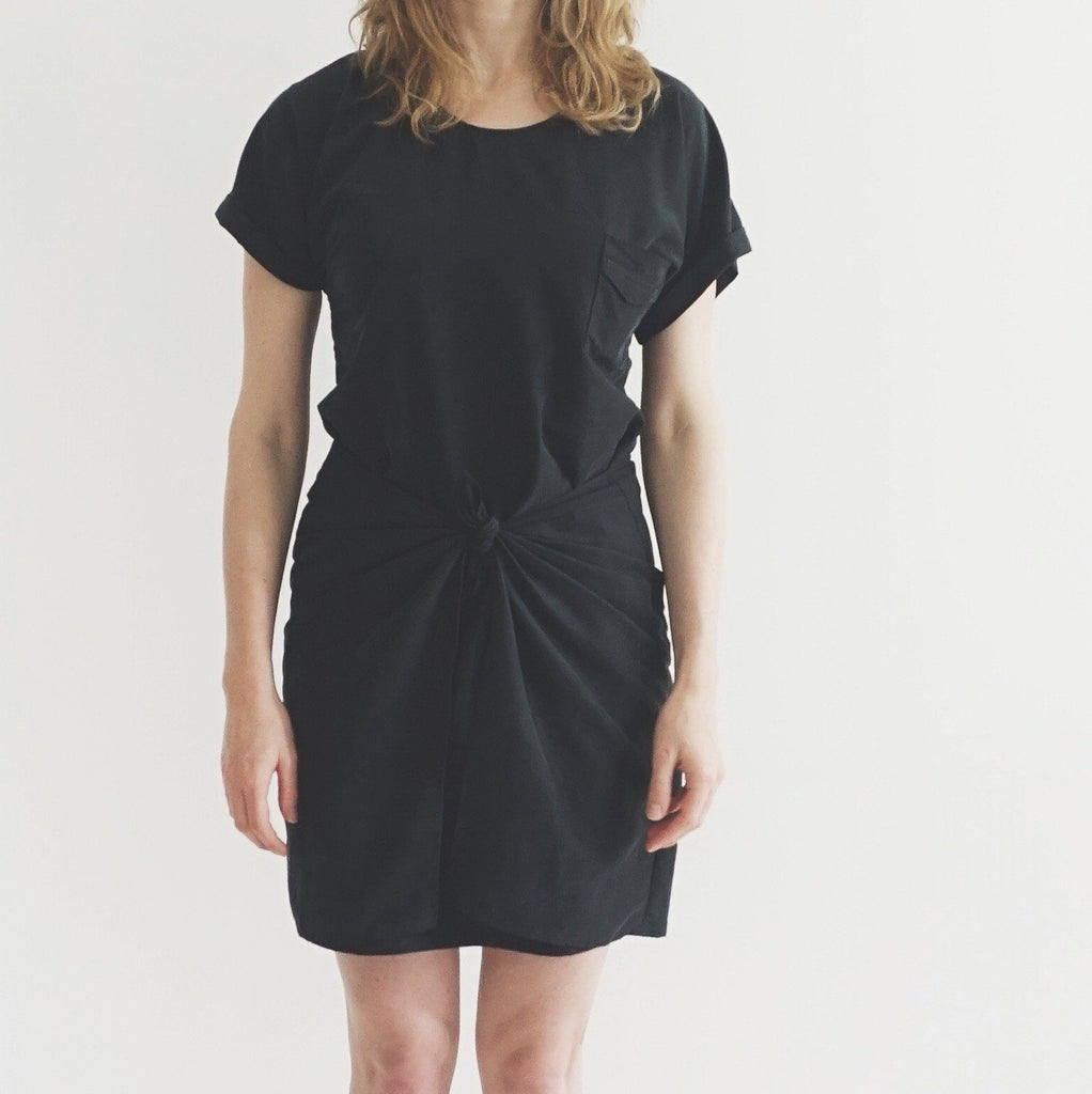 PDF Sewing Pattern - PDF Sewing Pattern - Tie Dress - For Women - easy to sew