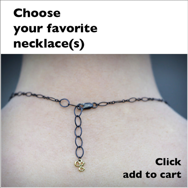 choose your favorite necklace and add to cart, back of necklace design
