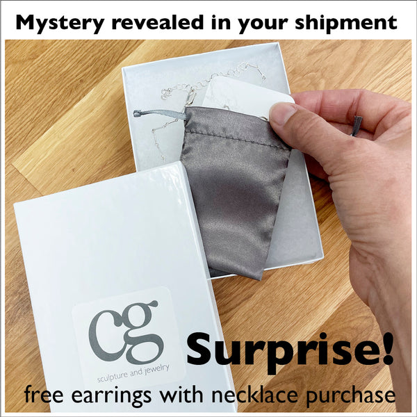 earring design mystery revealed in your mail delivery at home