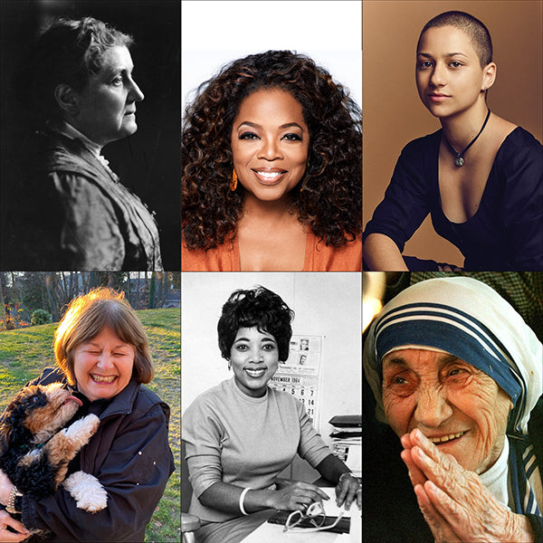 women from history and current day who are advocates of peace and love