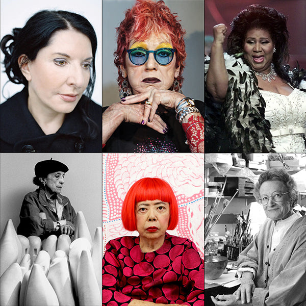 6 artists, inspring women who make history