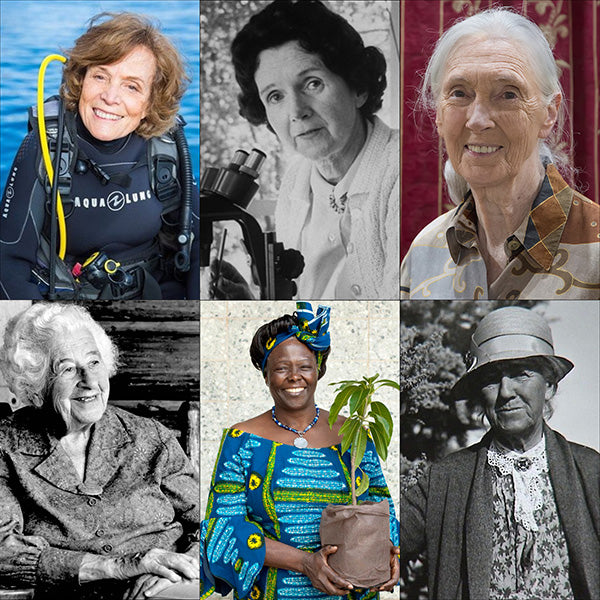 women in history-nature conservationists, make a difference
