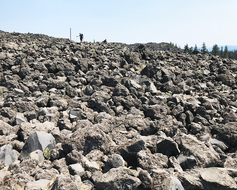 lava field backpacking Mt St Helens jewelry inspiration