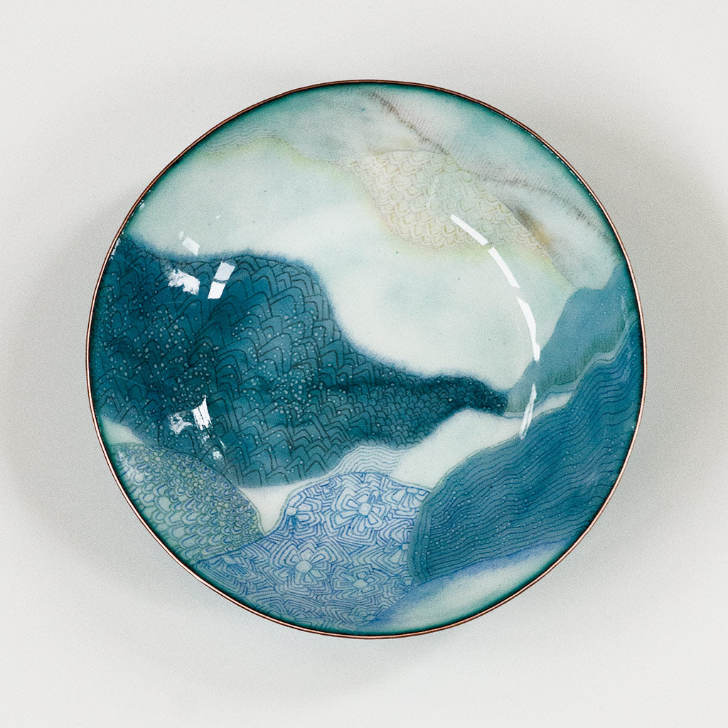Landscape Bowl, Found in the Distance