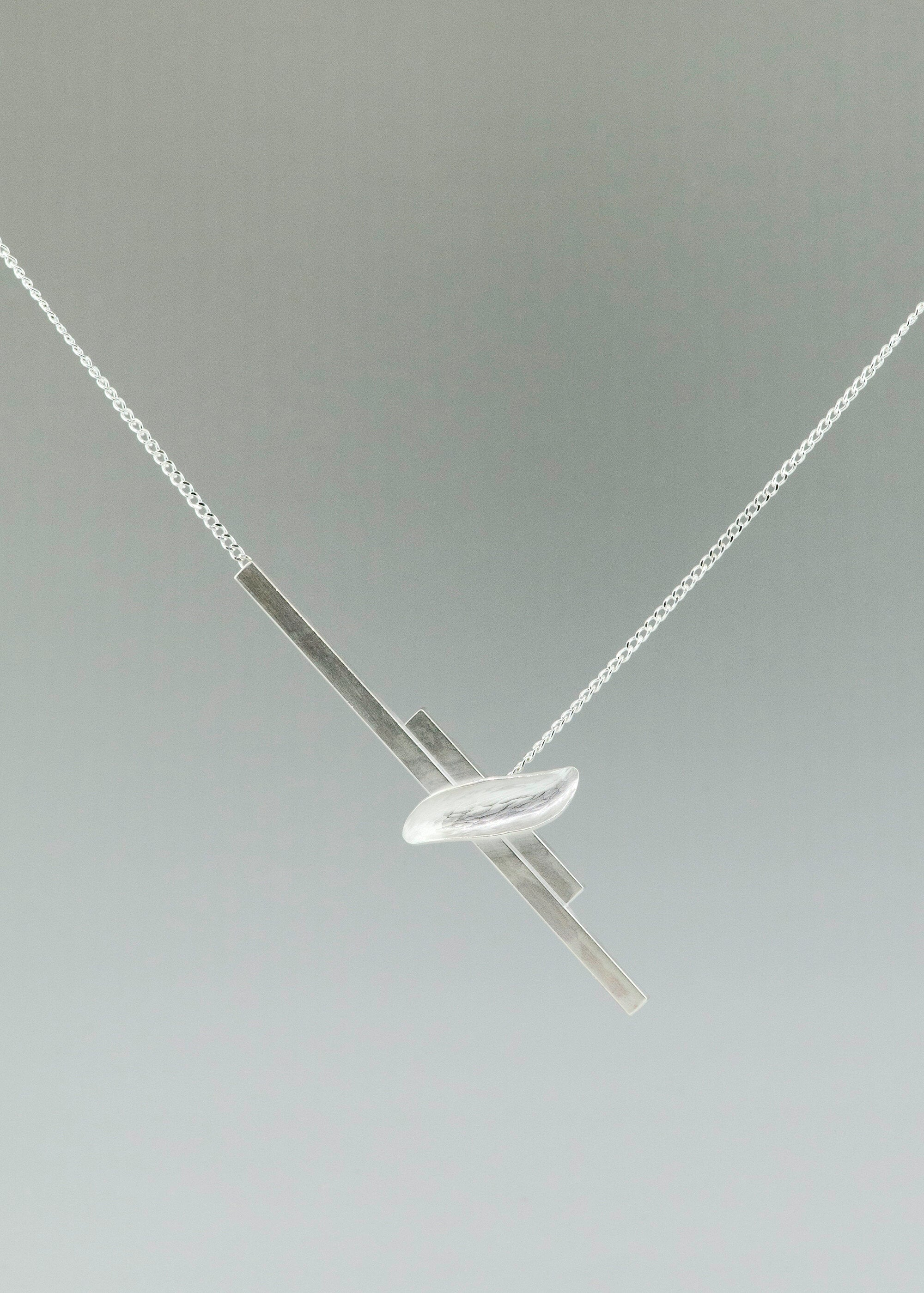 Silver Resilient Necklace