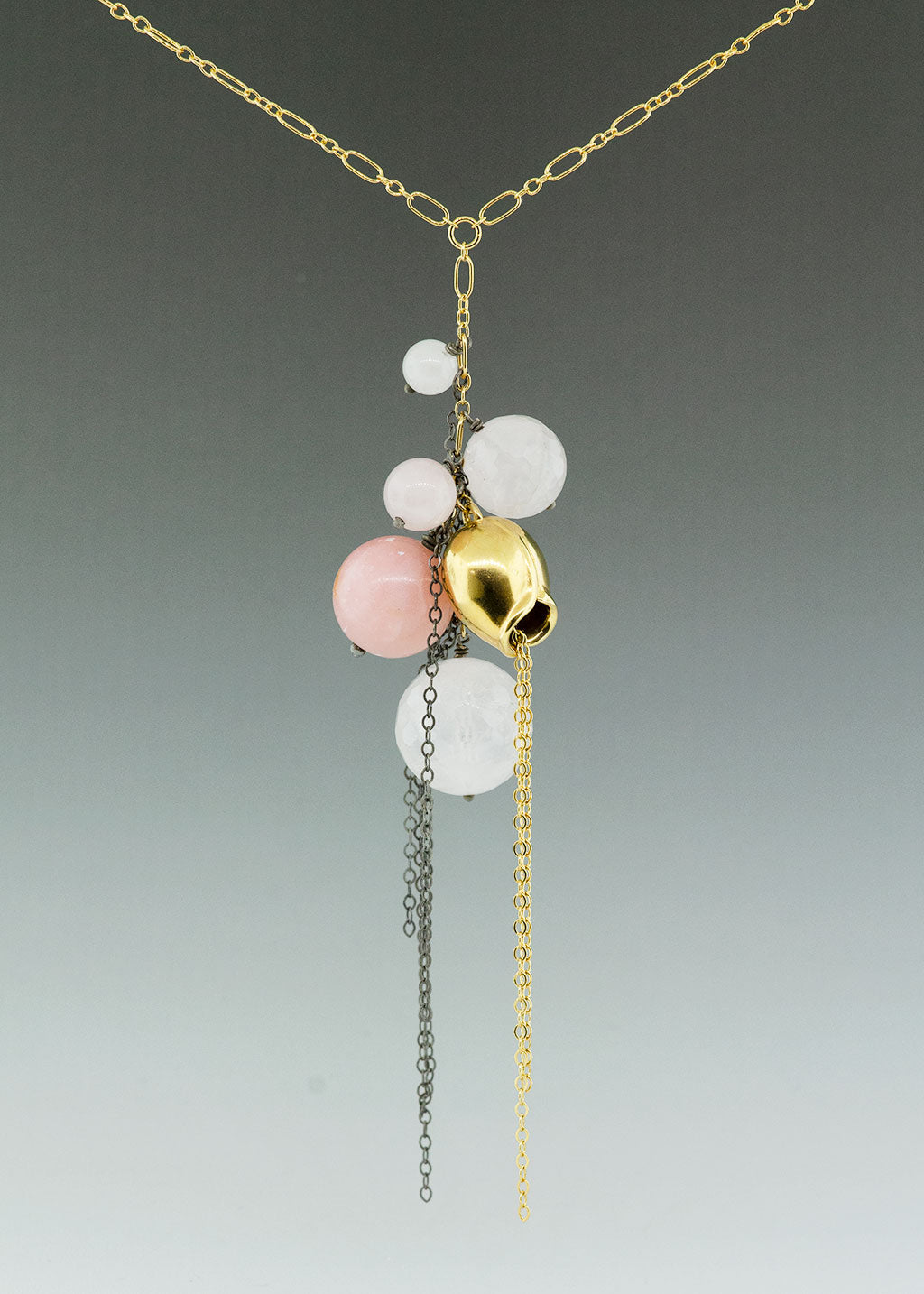 Pink Pod Necklace