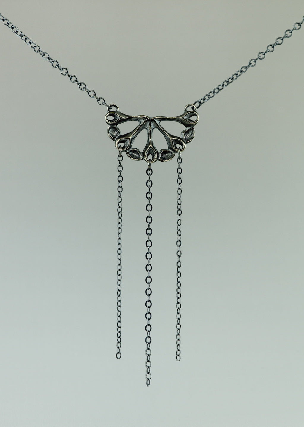 Semi Siren Pendant with chain Necklace