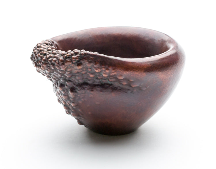 "Manifest One - copper vessel, 5.5"" x 4.75"" x 3.25"""