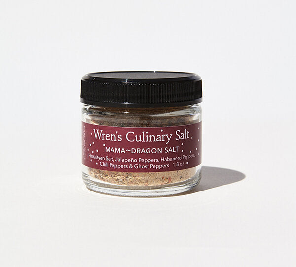 Mama Dragon salt - Wren's Culinary Salt, fantastic blend to spice up any meal