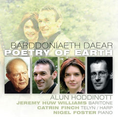Jeremy Huw Williams & Catrin Finch, Poetry of Earth|Jeremy Huw Williams & Catrin Finch, Barddoniaeth Daear