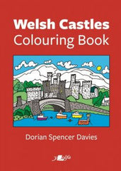 Welsh Castles Colouring Book