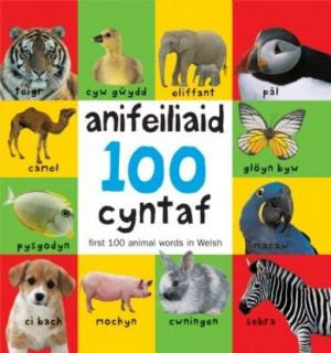 First 100 Animal Words in Welsh|100 Anifeiliaid Cyntaf
