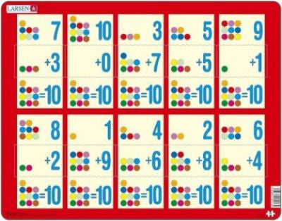 Numbers Jigsaw|Jig-So Rhifau 1-10 - Adio