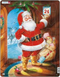 Santa Claus Jigsaw|Jig-So Siôn Corn
