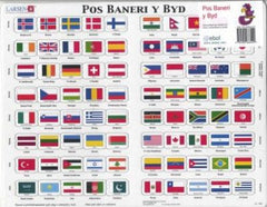 Capital Cities and Flags of the World|Pos Baneri y Byd