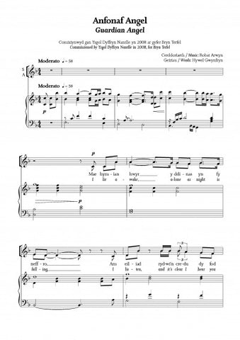 Guardian Angel (SATB)|Anfonaf Angel (SATB)