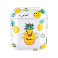 Transparent Pineapple Case for AirPods 1/2
