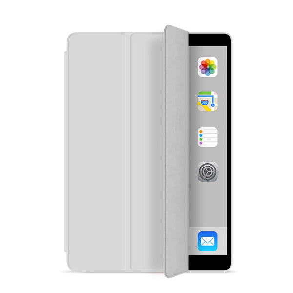 Gray Soft Silicone Case for any iPad