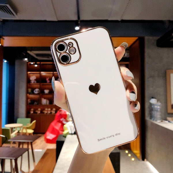 White Glass Imitation Case for any iPhone
