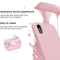 Lilac Silicone Solid Color Case for any iPhone