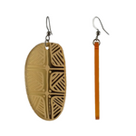 Coolamon mini earrings by The Koorie Circle