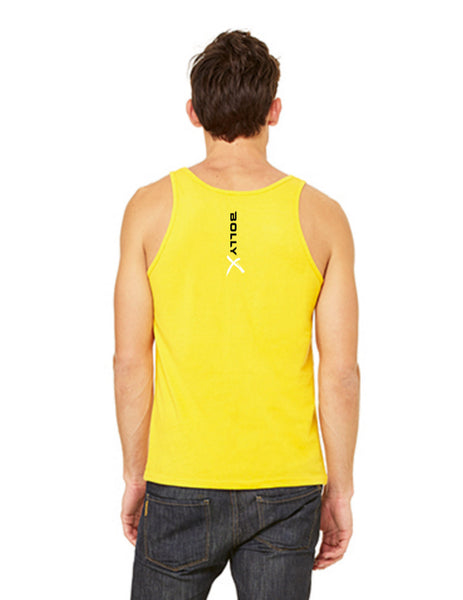 Yellow Unleash Your Inner Rockstar Unisex Tank - BollyX - 4
