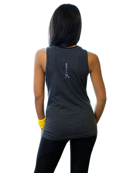 Gray Unleash Your Inner Rockstar Unisex Tank - BollyX - 3