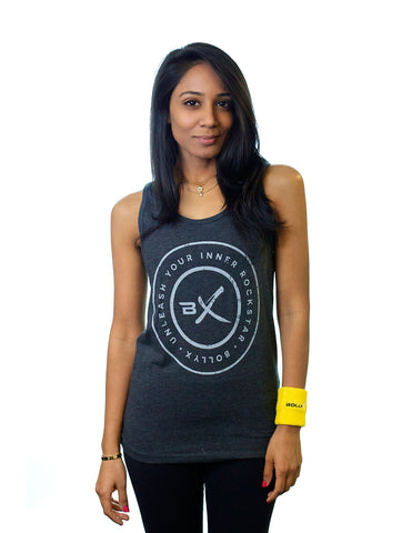 Gray Unleash Your Inner Rockstar Unisex Tank