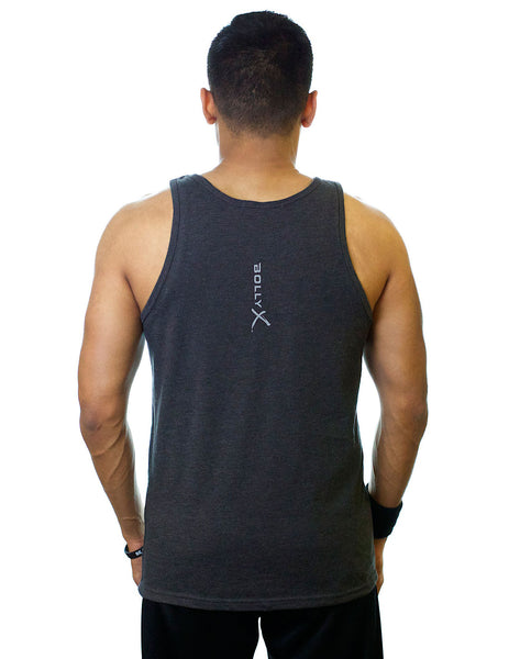 Gray Unleash Your Inner Rockstar Unisex Tank - BollyX - 4