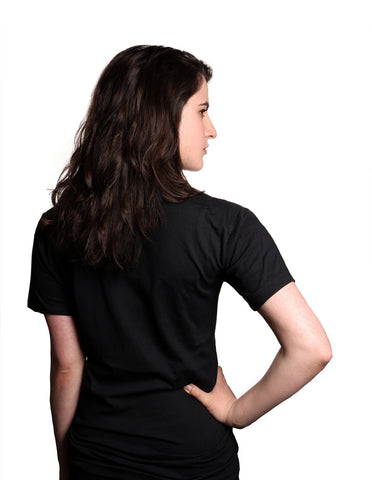 BollyX Women's Black Jersey T-Shirt
