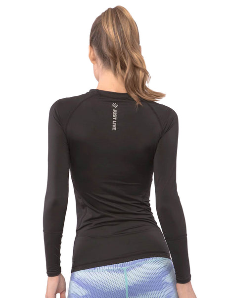 Just Live - Impulse Long Sleeve Black - BollyX - 2