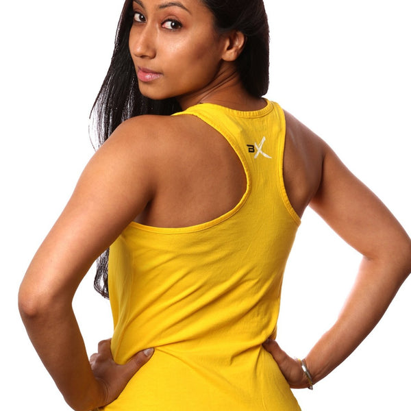 BollyX Women's Yellow Tank - BollyX - 2