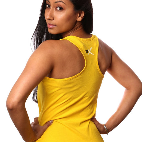 BollyX Women's Yellow Tank
