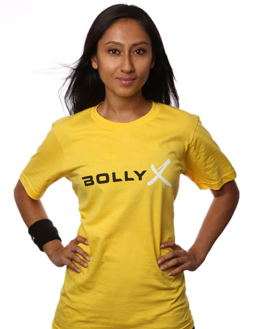 BollyX Women's Yellow T-Shirt