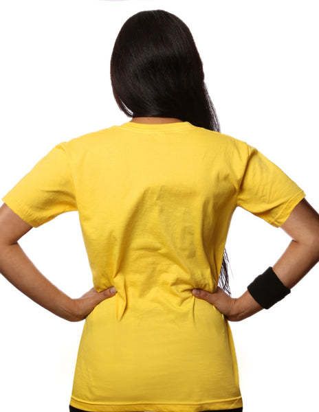 BollyX Women's Yellow T-Shirt - BollyX - 2