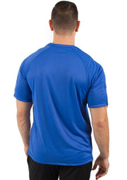 The Jim - Men's Easy Dressing Adaptive Post Surgery Short Sleeve Tee