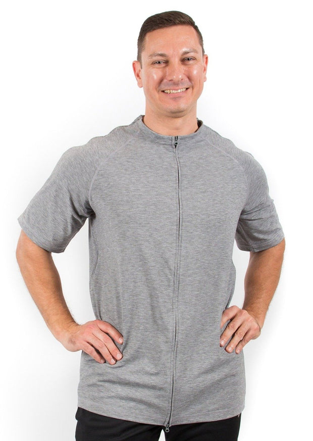 The Jim - Men's Post Surgery Short Sleeve Top