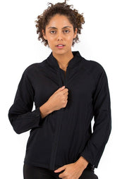 The Celine - Women's Easy Dressing Adaptive Post Surgery 3/4 Sleeve Jacket