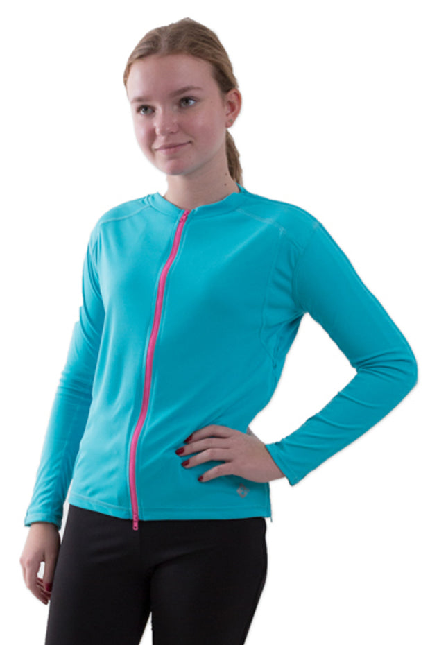 The Jenny - Girl's Easy Dressing Adaptive Post Surgery Long Sleeve Top