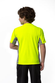 The Ben - Boy's Easy Dressing Adaptive Athletic Short Sleeve Tee