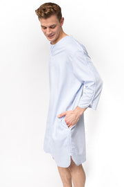 The Dale - Luxurious Easy Dressing  Night Shirt