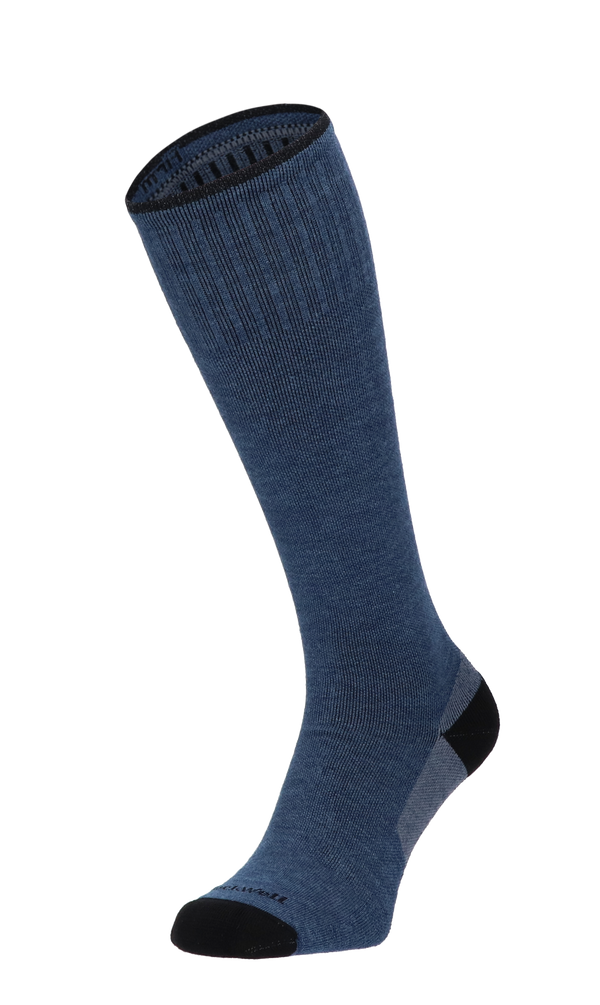Elevation Heren Compressiekousen Klasse 2 Denim