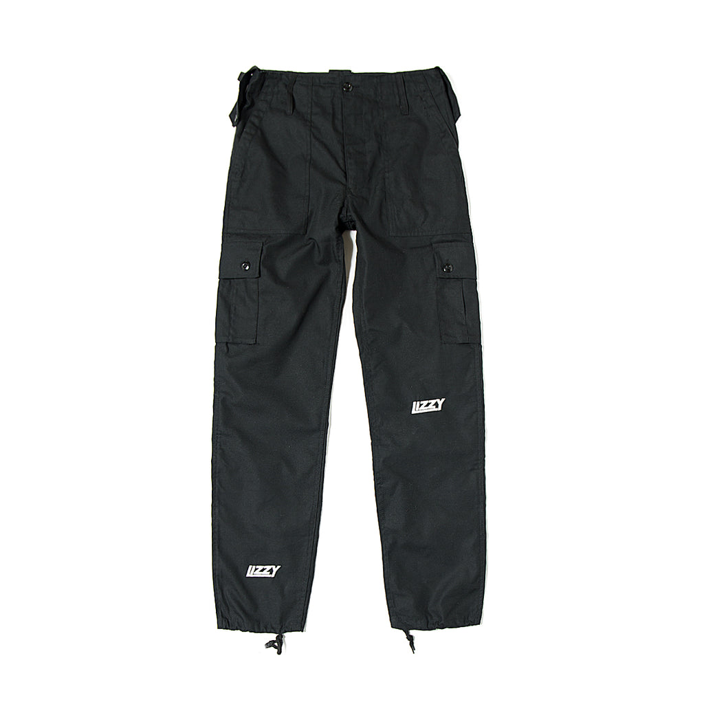 Lizzy Sports Cargo Pants - Black