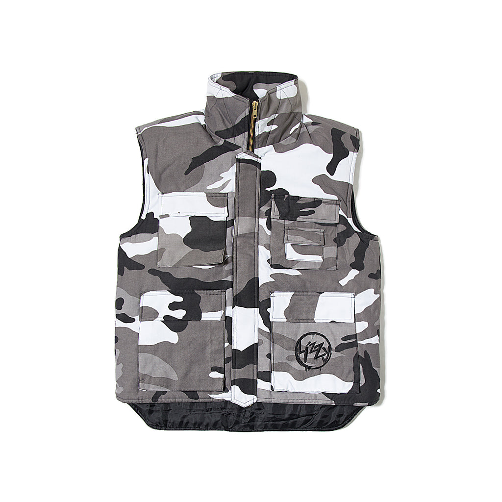Lizzy Anarchy Gillet - Camo