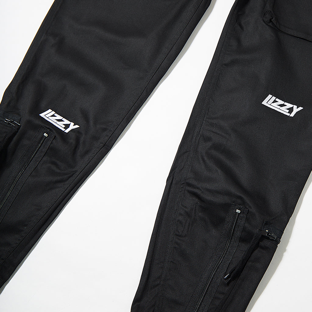 Lizzy Sports Boiler Suit - Black