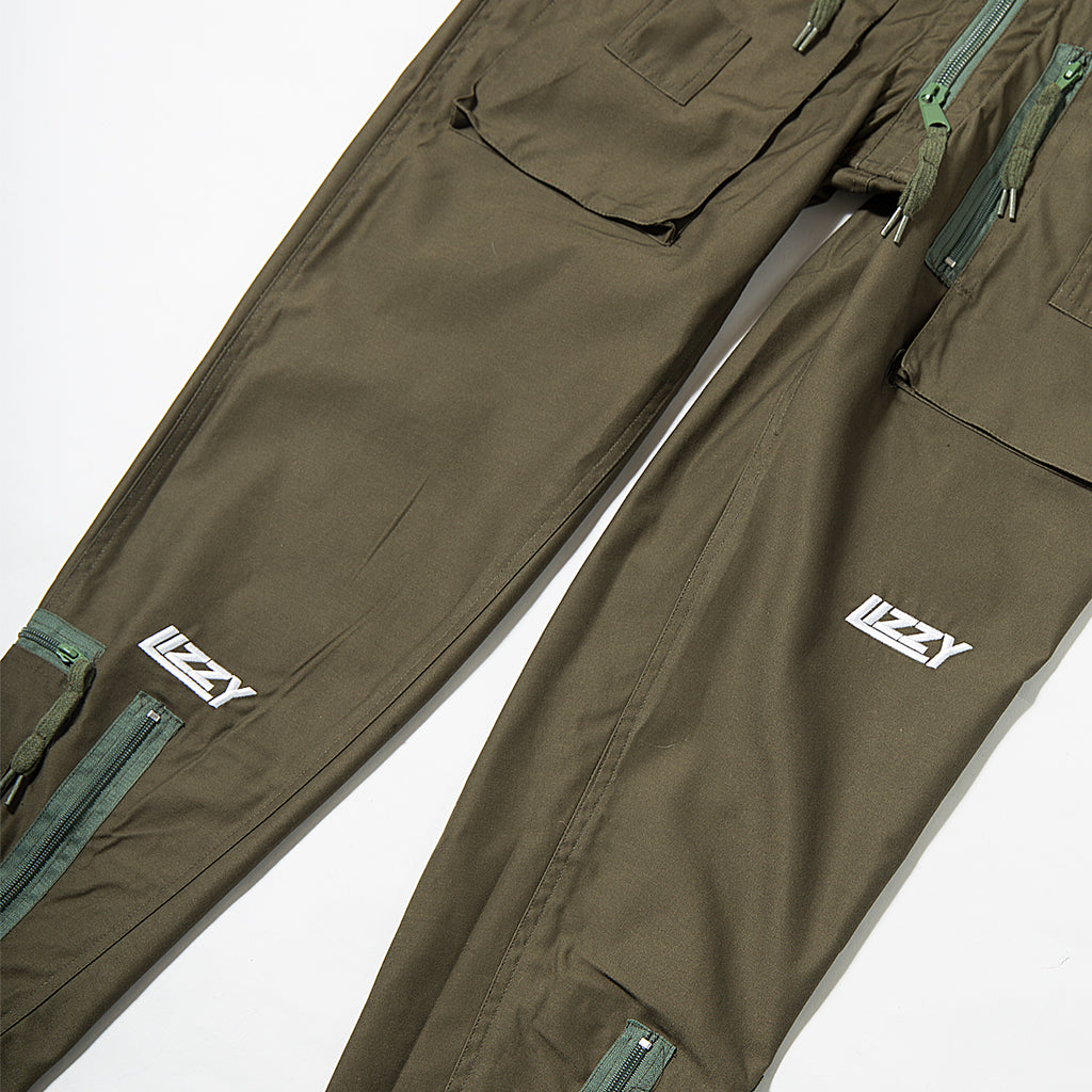 Lizzy Sports Boiler Suit - Green