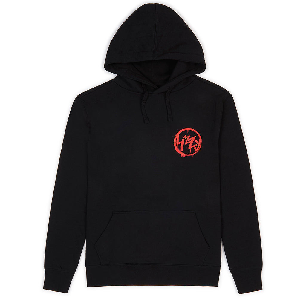Anarchy Hood - Black/Red